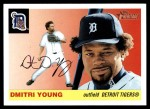 2004 Topps Heritage #8 NEW Dmitri Young  Front Thumbnail