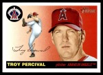 2004 Topps Heritage #141  Troy Percival  Front Thumbnail