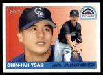 2004 Topps Heritage #33  Chin-Hui Tsao  Front Thumbnail