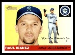 2004 Topps Heritage #134  Raul Ibanez  Front Thumbnail