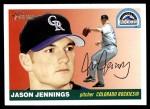 2004 Topps Heritage #187  Jason Jennings  Front Thumbnail
