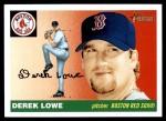2004 Topps Heritage #122  Derek Lowe  Front Thumbnail