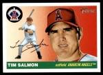 2004 Topps Heritage #67  Tim Salmon  Front Thumbnail
