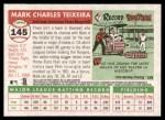 2004 Topps Heritage #145  Mark Teixeira  Back Thumbnail