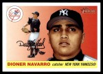 2004 Topps Heritage #80  Dioner Navarro  Front Thumbnail