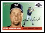 2004 Topps Heritage #101  John Vander Wal  Front Thumbnail