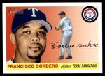 2004 Topps Heritage #388  Francisco Cordero  Front Thumbnail