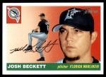 2004 Topps Heritage #385  Josh Beckett  Front Thumbnail