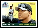2004 Topps Heritage #358  Rene Reyes  Front Thumbnail
