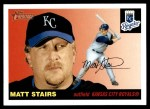 2004 Topps Heritage #365  Matt Stairs  Front Thumbnail