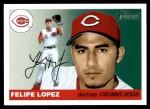 2004 Topps Heritage #232  Felipe Lopez  Front Thumbnail