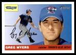 2004 Topps Heritage #387  Greg Myers  Front Thumbnail