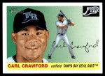 2004 Topps Heritage #284  Carl Crawford  Front Thumbnail