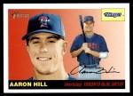 2004 Topps Heritage #326  Aaron Hill  Front Thumbnail