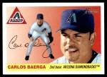 2004 Topps Heritage #207  Carlos Baerga  Front Thumbnail