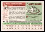 2004 Topps Heritage #277  Ty Wigginton  Back Thumbnail