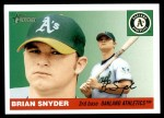 2004 Topps Heritage #376  Brian Snyder  Front Thumbnail