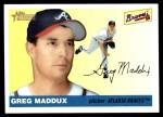 2004 Topps Heritage #214  Greg Maddux  Front Thumbnail
