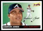 2004 Topps Heritage #208  Andruw Jones  Front Thumbnail