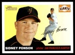 2004 Topps Heritage #338  Sidney Ponson  Front Thumbnail