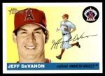 2004 Topps Heritage #394  Jeff Davanon  Front Thumbnail