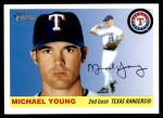 2004 Topps Heritage #206  Michael Young  Front Thumbnail