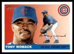 2004 Topps Heritage #291  Tony Womack  Front Thumbnail