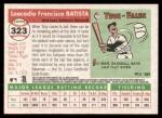 2004 Topps Heritage #323  Tony Batista  Back Thumbnail