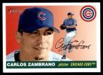 2004 Topps Heritage #297  Carlos Zambrano  Front Thumbnail