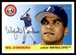 2004 Topps Heritage #348  Wil Cordero  Front Thumbnail