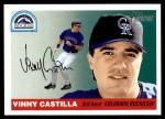 2004 Topps Heritage #328  Vinny Castilla  Front Thumbnail