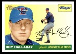 2004 Topps Heritage #390  Roy Halladay  Front Thumbnail
