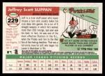2004 Topps Heritage #229  Jeff Suppan  Back Thumbnail