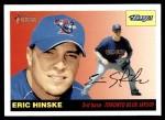 2004 Topps Heritage #331  Eric Hinske  Front Thumbnail