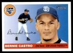 2004 Topps Heritage #308  Bernie Castro  Front Thumbnail