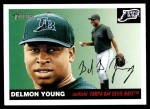 2004 Topps Heritage #279  Delmon Young  Front Thumbnail