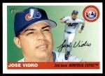 2004 Topps Heritage #275  Jose Vidro  Front Thumbnail