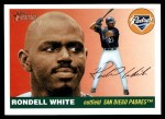 2004 Topps Heritage #204  Rondell White  Front Thumbnail