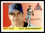 2004 Topps Heritage #395  Matt Kata  Front Thumbnail