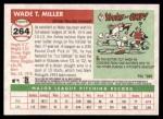 2004 Topps Heritage #264  Wade Miller  Back Thumbnail