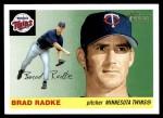 2004 Topps Heritage #274  Brad Radke  Front Thumbnail