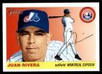 2004 Topps Heritage #320  Juan Rivera  Front Thumbnail