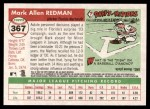 2004 Topps Heritage #367  Mark Redman  Back Thumbnail