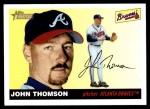 2004 Topps Heritage #216  John Thomson  Front Thumbnail
