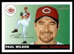2004 Topps Heritage #356  Paul Wilson  Front Thumbnail