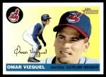2004 Topps Heritage #357  Omar Vizquel  Front Thumbnail