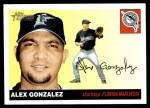 2004 Topps Heritage #325  Alex Gonzalez  Front Thumbnail