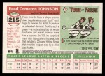 2004 Topps Heritage #215  Reed Johnson  Back Thumbnail
