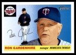 2004 Topps Heritage #211  Ron Gardenhire  Front Thumbnail