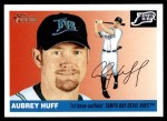 2004 Topps Heritage #352  Aubrey Huff  Front Thumbnail